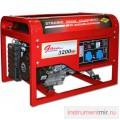 Генератор бензиновый DDE DPG 4851 (генер.230В,3.2кВт/3.8кВА,двигат.9л.с/6.62кВт,25л/10час)